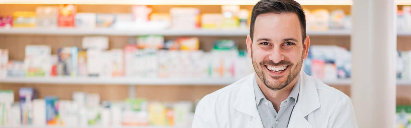 healthy man after sub-acute medical detox